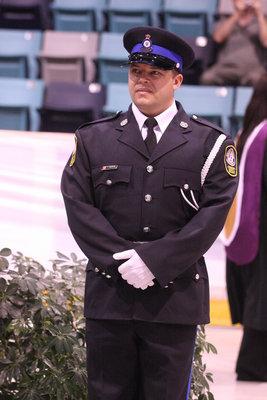 Adam Parsons, spring convocation 2008