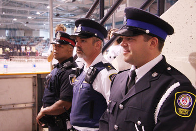 Police officer and special constables, spring convocation 2008