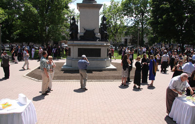 Brantford convocation reception, 2008