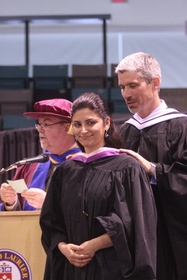Ray Darling, spring convocation 2008