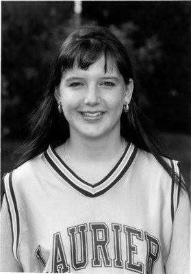 Wilfrid Laurier University basketball player, 1994-1995