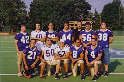 Wilfrid Laurier University football players, 2003