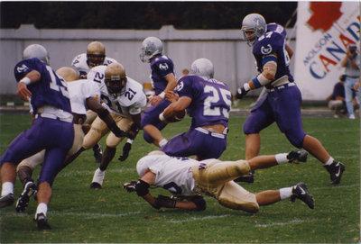 Wilfrid Laurier University football game, 1996
