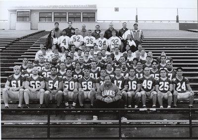 Wilfrid Laurier University men's football team, 1995