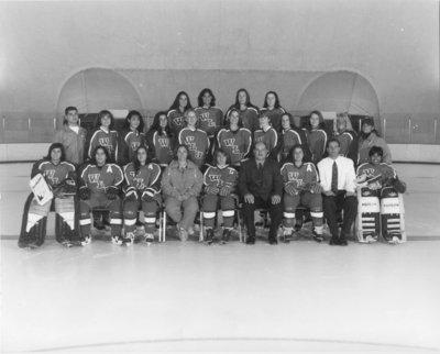 Wilfrid Laurier University women's hockey team, 1995-96