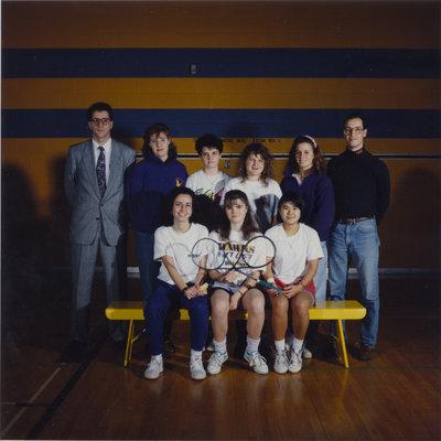 Wilfrid Laurier University women's squash team, 1991-92