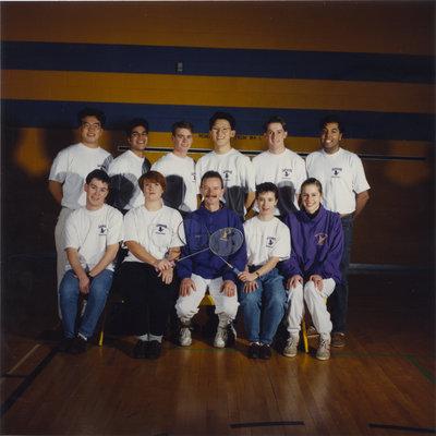 Wilfrid Laurier University badminton team, 1991-92