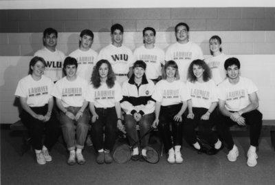 Wilfrid Laurier University badminton team