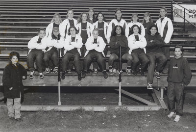Wilfrid Laurier University women's soccer team, 1996-97