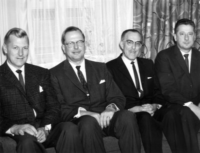 Executive of the Board of Governors, Waterloo Lutheran University, 1962-63