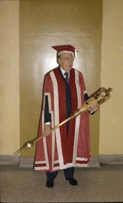 Paul Joseph Martin at Wilfrid Laurier University convocation ceremony