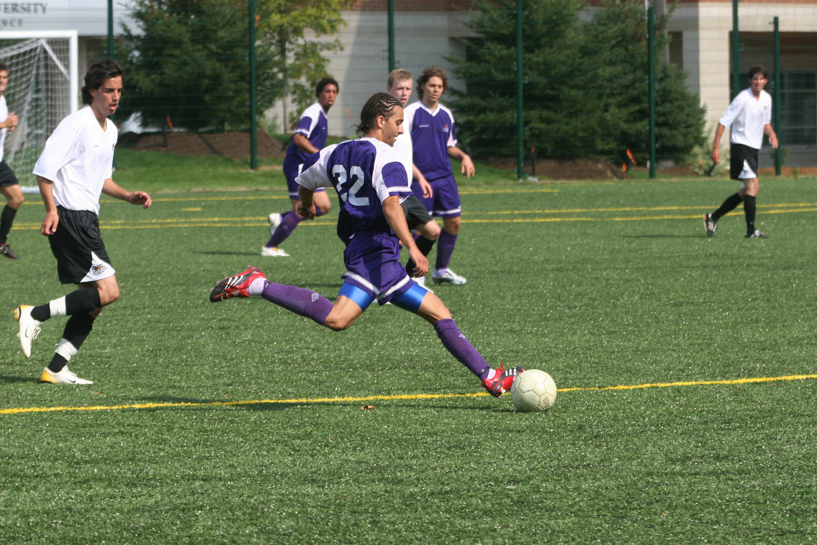 Wilfrid Laurier University men's soccer game
