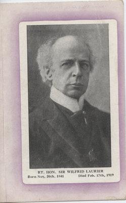 Wilfrid Laurier postcard