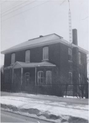 Parsonage, Grace Evangelical Lutheran Church in Eganville, Ontario