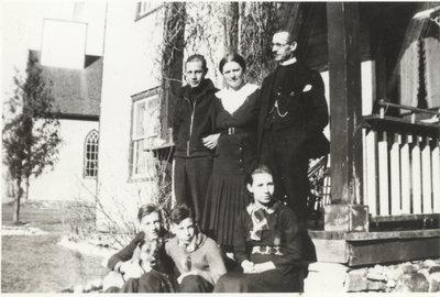 P. G. Richard Pfeiffer and family