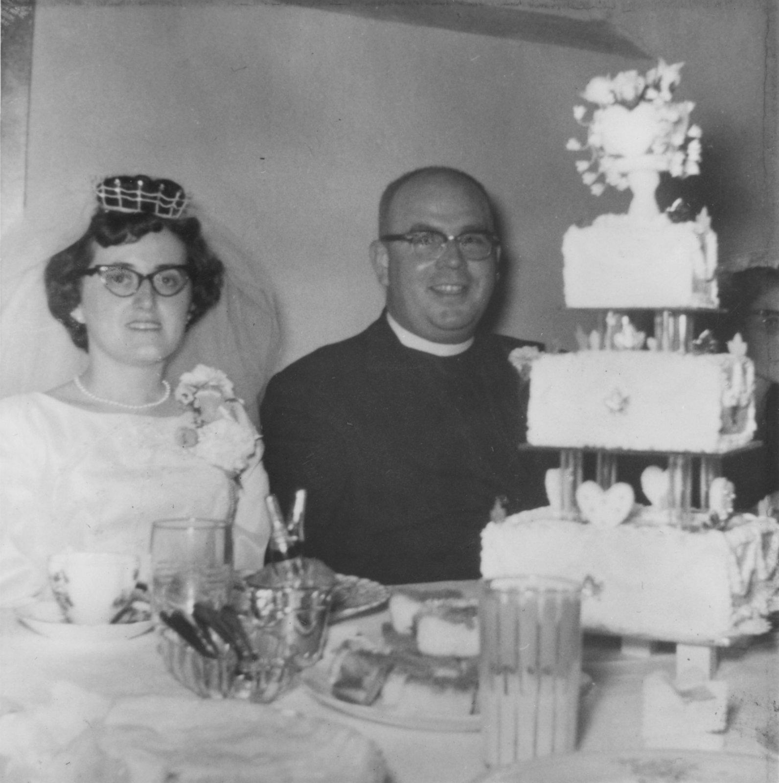 Wedding of Reverend Charles Dechert and Joyce Radke