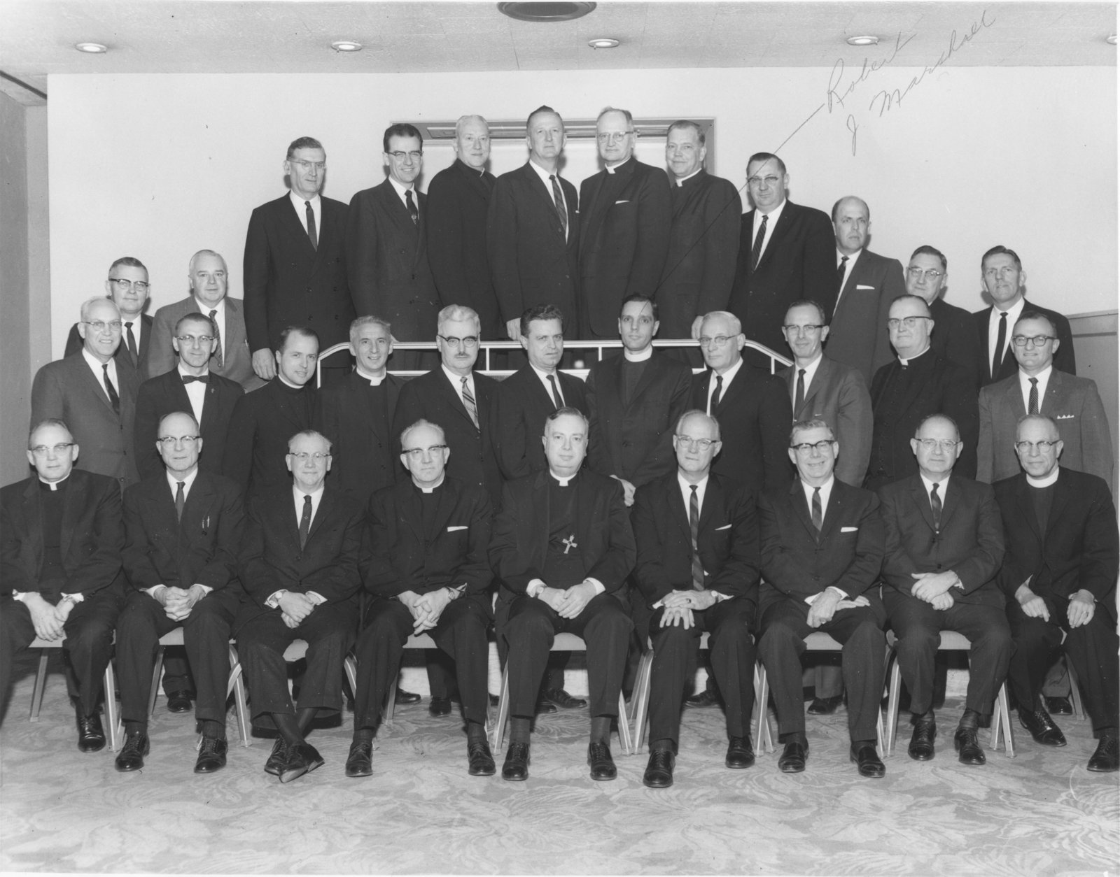 The first conference of the Lutheran Church in America Synod presidents