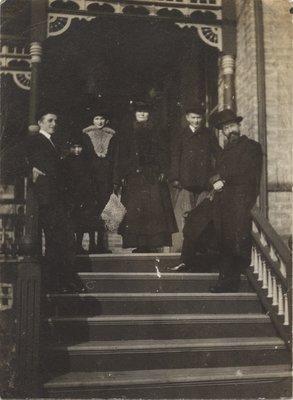 Ottomar Lincke and family