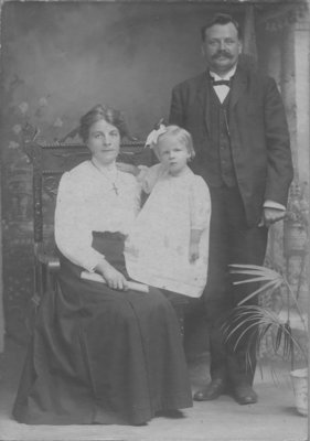 Reverend Paul Kleine and family