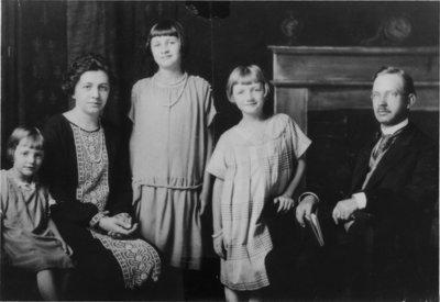 Reverend William Kupfer and family
