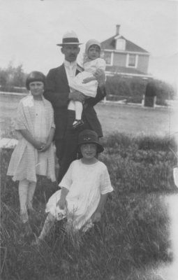 William Kupfer and daughters