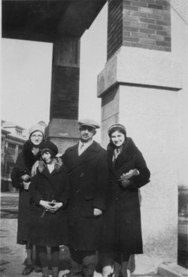 Reverend Kupfer and daughters