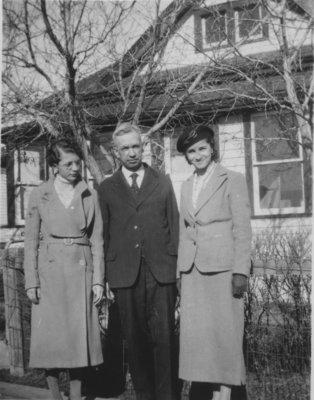 Rev. Kupfer and daughters