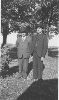 Reverend Conrad Zarnke and man