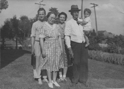 Conrad Zarnke and family