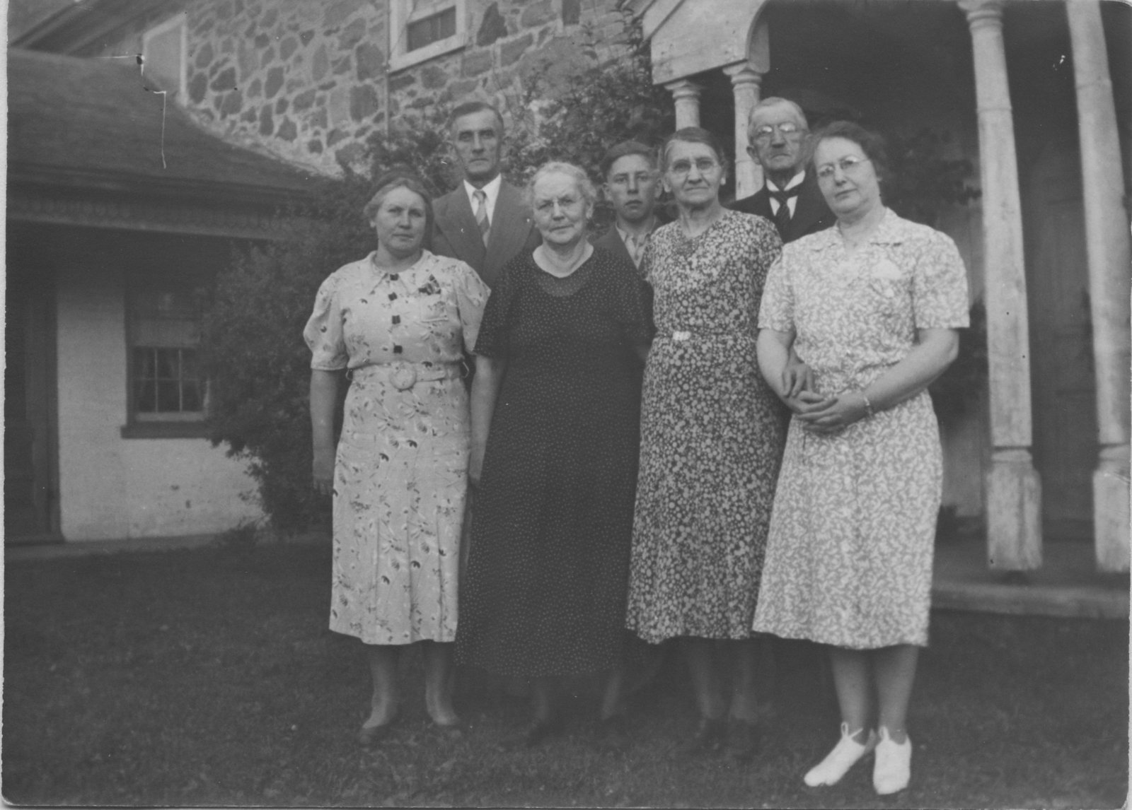 Reverend Conrad Zarnke and family