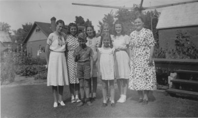 Mosig family and Walter Hamester