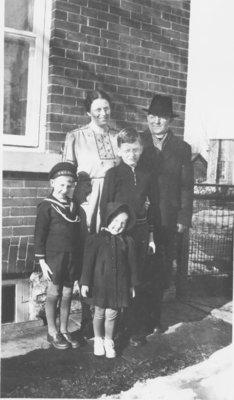 Rev. John Hamester and family