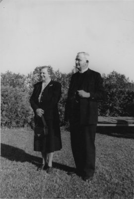 Reverend Max Voss and Mrs. Louise Voss