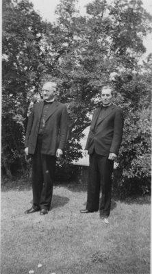 Rev. Max Voss and Rev. Ernst Neudoerffer