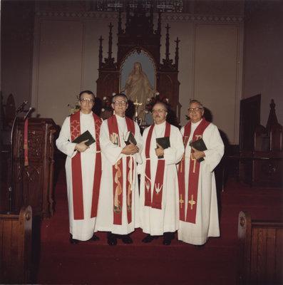 Rev. David Metzger 25 year ordination anniversary