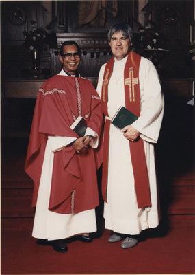 Rev. Joseph Habibullah and Rev. Douglas Kranz