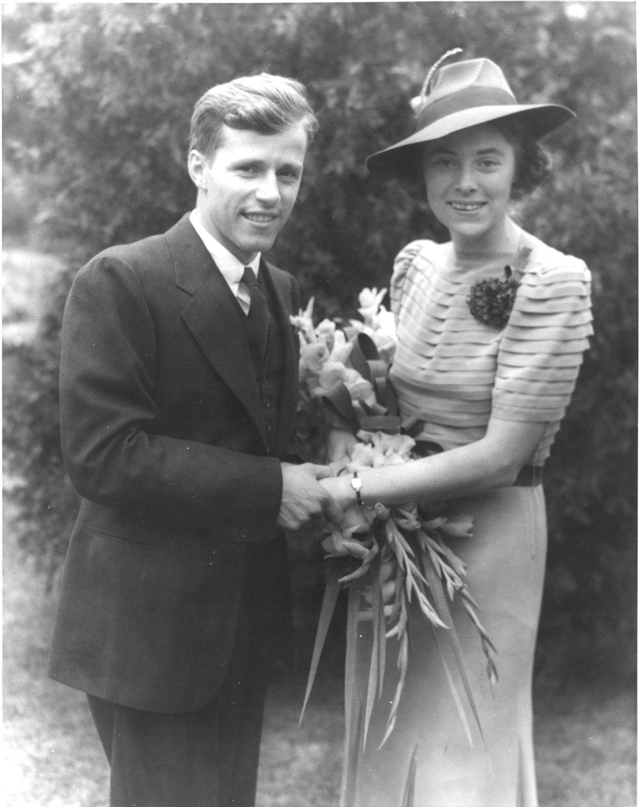 Peggy Conrad and Woldemar Neufeld