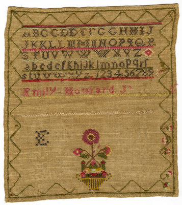 Sampler by Emily Howard Jennings