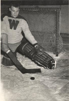 Goalie, Waterloo College hockey team