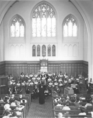 College Service, Royal Canadian College of Organists National Convention, 1975