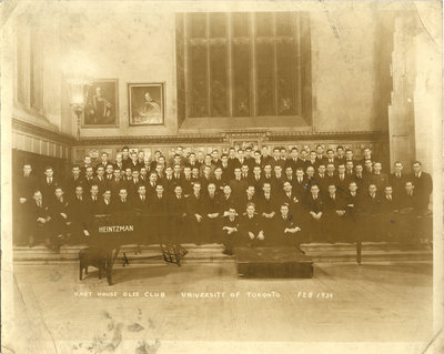 Hart House Glee Club, University of Toronto, 1939