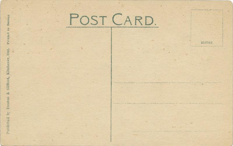 William Lyon Mackenzie King postcard
