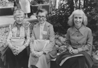Eldred Bancroft, Violet Archer and Elaine Simpson