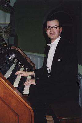 Neil Cockburn at Eglise Saint-Anne, Ottawa