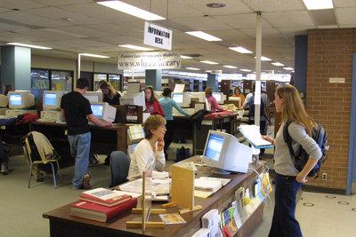 Wilfrid Laurier University Library Information Desk