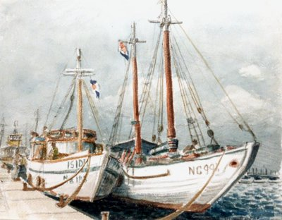 Fishing Boats in Willemstadt