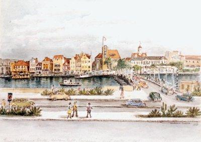 Queen Wilhelmina Bridge, Willemstad