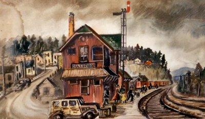 Railway Station in Bracebridge