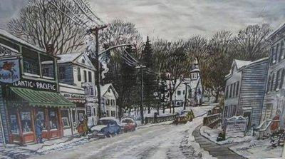 Washington Depot in Winter