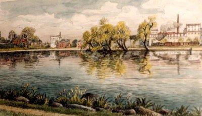 Silver Lake in Waterloo, Circa 1935